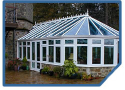 Winner Atrium Conservatory Built by Exmoor Fascias Devon (Barnstaple and Bideford)