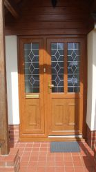 Glazed Composite Doors by Exmoor Fascias in Barnstaple